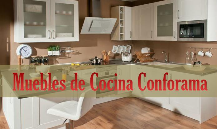 Muebles de cocina en Conforama
